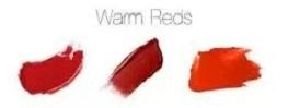 Warm Red Undertones
