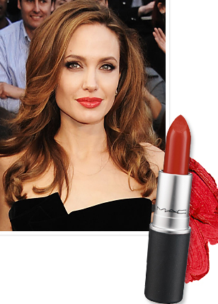Angelina Jolie - Long Lasting Lipstick Brands Used by Celebrities