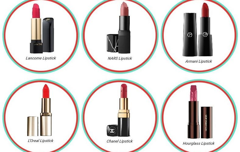 Lipstick Brands Used by Celebrities