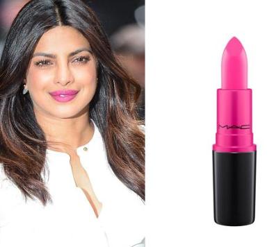 Priyanka Chopra - Long Lasting Lipstick Brands Used by Celebrities