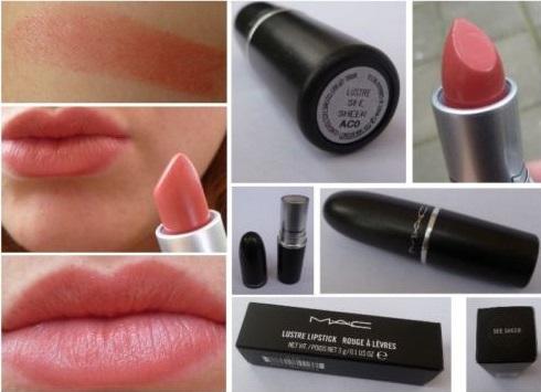 Lustre MAC Lipsticks