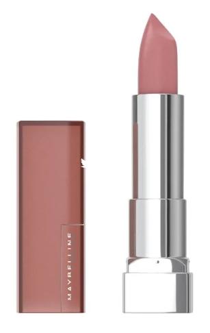Sensational matte finish lipstick