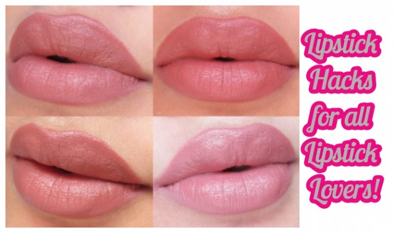 How to Make Perfect Lips with Lipstick Hacks