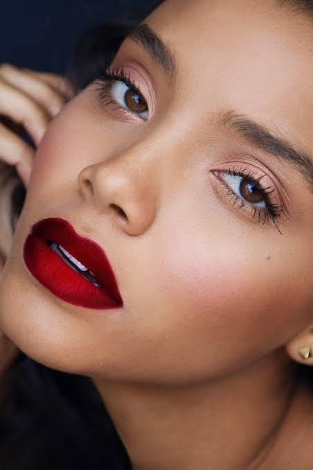 Bold sassy Red Lipstick