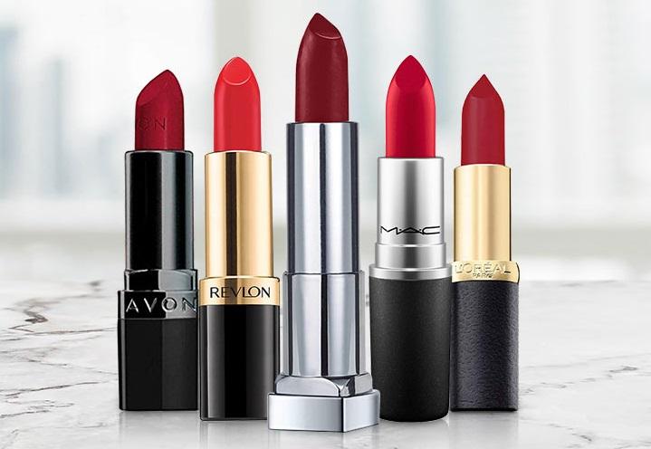 Sassy Red Lipstick