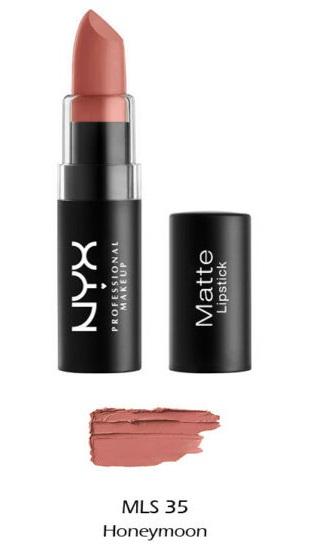 NYX Professional Matte Lipstick — Honeymoon
