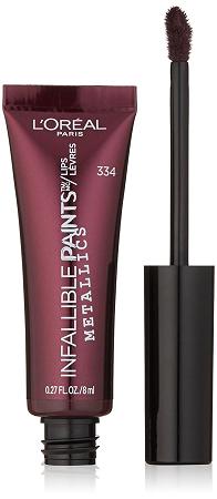 Loreal Infallible Lip Paint Metallic Liquid Lipstick