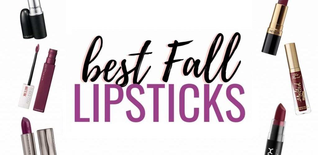 best drugstore fall lipstick