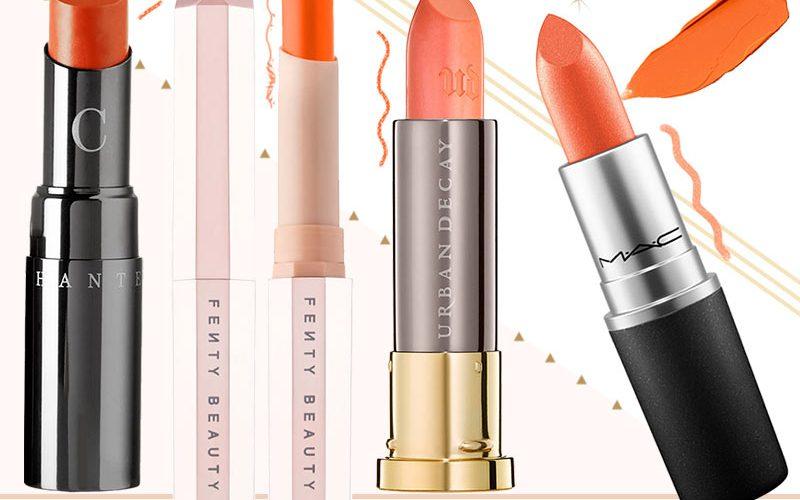 best orange lipstick brands