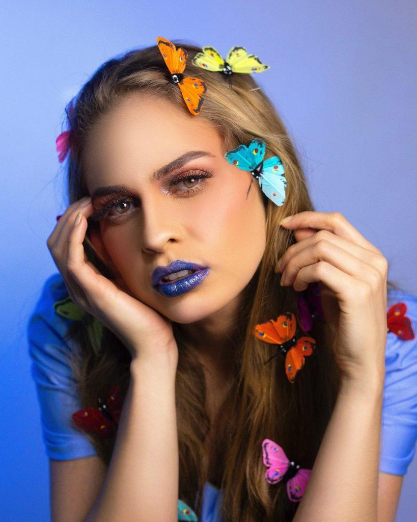 Lipstick in unusual colors