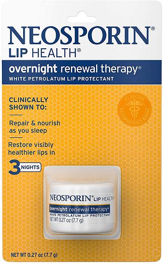 Neosporin Lip Health Overnight Renewal Therapy