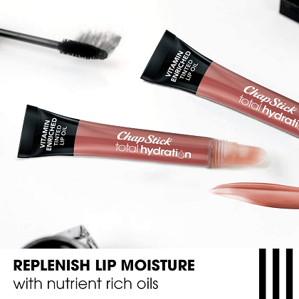 ChapStick Total Hydration Vitamin Enriched Tinted Lip Oil