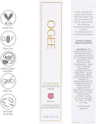 Tinted Sculpted Lip Oil by Ogee
