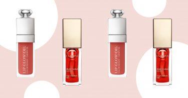 clear nourishing lip oils