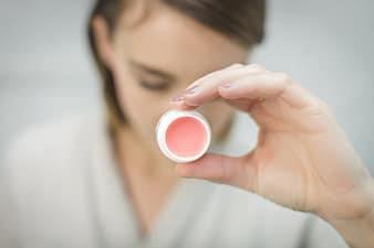 DIY Pink Lip gloss