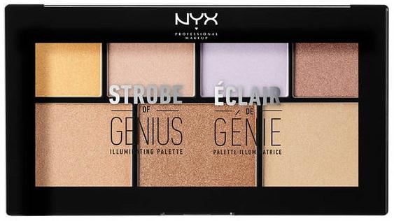 Strobe of Genius Illuminating Palette by NYX Professional