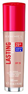 Rimmel London Lasting Finish 25 Hour Full Coverage Liquid Foundation
