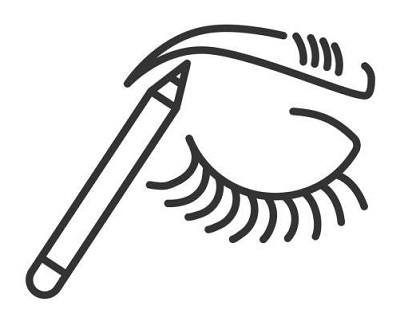 Point up your Brows Using White Pencil