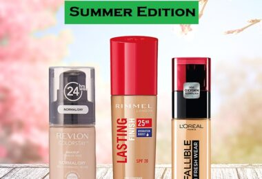 best waterproof foundations for oily skinin Summer